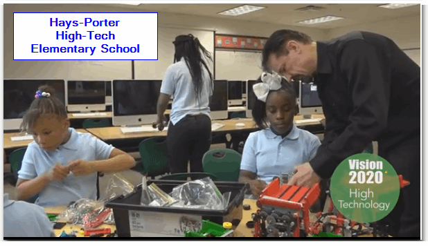 Hays-Porter High-Tech Elementary School featured in CPS Vision 2020 Video