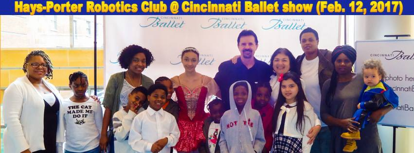 Hays-Porter Robotics Club @ Cincinnati Ballet Show (Feb. 12, 2017)