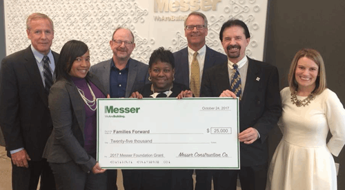 Messer Construction Ribbon Cutting
