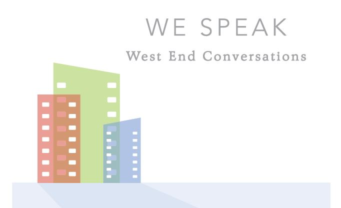 WE Speak: Community Conversation this Saturday