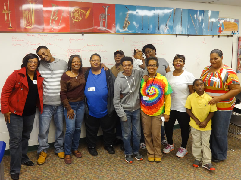 Toyota Family Learning program @ Hays-Porter Elementary