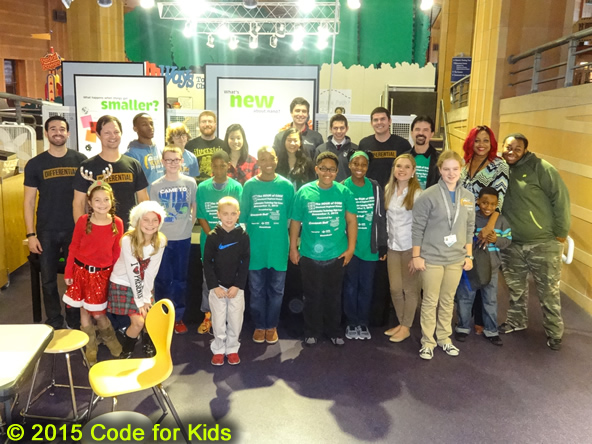 Hays-Porter and Taft students at Museum Center (Dec. 12, 2015)