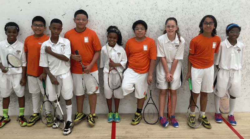 Hays-Porter 6th-Grader Competes in Squash Tournament at Harvard University