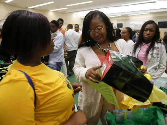 Sinita Scott from Taft IT High School makes national headlines with gifts for her students